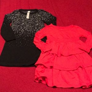 Other - Holiday Dress/Tunic Lot Old Navy & Cherokee